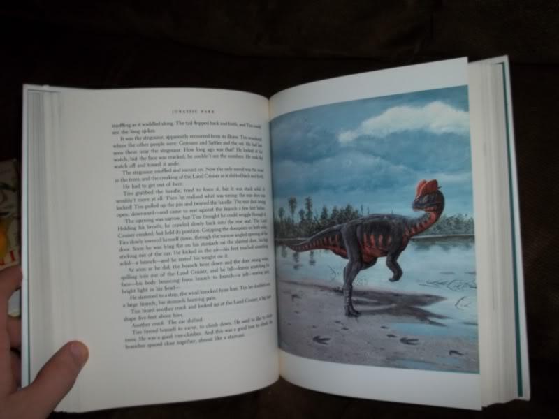 jurassic park novel summary