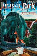 Jp Hand painted bootleg ghana jp poster