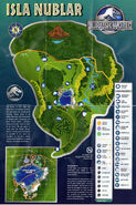 Jurassic World Map Full