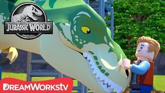 Rock-A-Bye T-Rex LEGO JURASSIC WORLD LEGEND OF ISLA NUBLAR-1