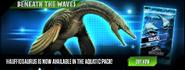 Hauffiosaurus Release News
