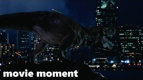 Парк Юрского периода 2 Затерянный мир - Тираннозавр вырывается на свободу