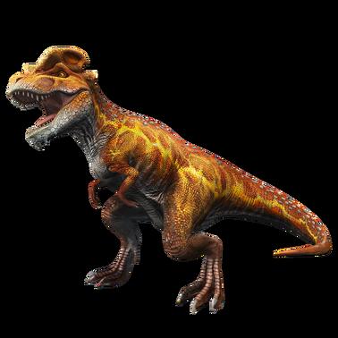 JWA PressKit Tyrannolophosaur