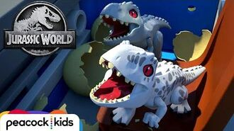 Trailer LEGO JURASSIC WORLD DOUBLE TROUBLE