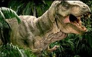 Tyrannosaurbuckanimatronic