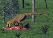 Ceratosaurus-mural