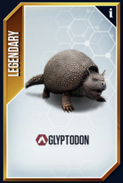 Glyptodon New Card