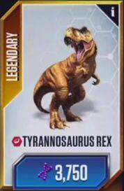 Tyrannosaurus rex JWTG