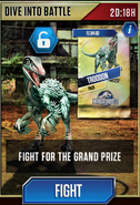 Dive into Battle (Troodon) Event
