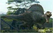Spinosaurus attack 2