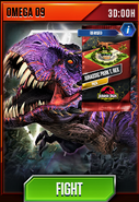 Omega 09 Event (Jurassic Park T. rex)