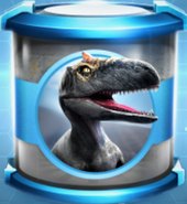 Allosaurus Large Blue Incubator