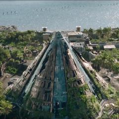Le parc en 2019