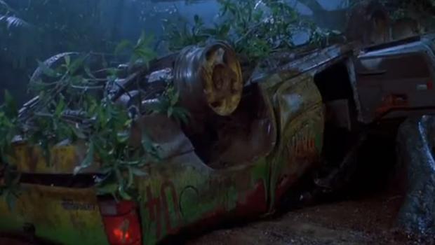 Das Baumauto Jurassic World
