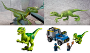 Green, Blue and Rexy