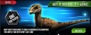 Velociraptor Special Offer News