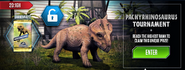 Pachyrhinosaurus Tournament News