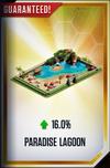 Paradise Lagoon Card