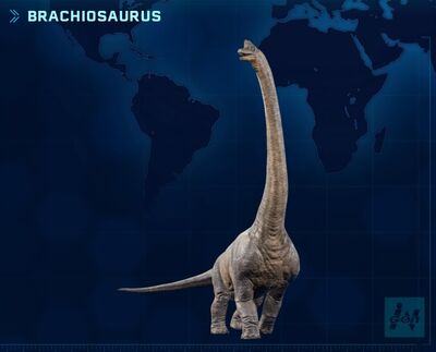 JWE Brachiosaurus
