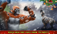 Which creature loves snow the most