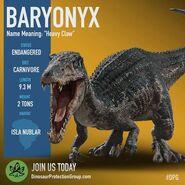 Baryonyx dossier