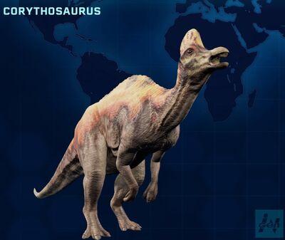 Corythosaurus JWE