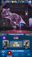 Tyrannolophosaur Hologram JWA