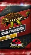 Discover jurassic park pack