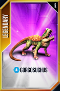 Gorgosuchus New Card