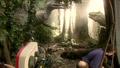 Jurassic Park III - T. rex animatronic BTS - 00008