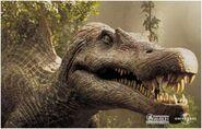 Spinosaurus portrait