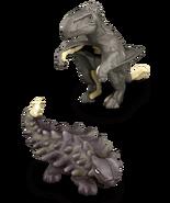 Jwm AnkylosaurusDimorphodon