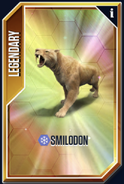 Smilodon New Card