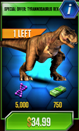 Tyrannosaurus Special Offer
