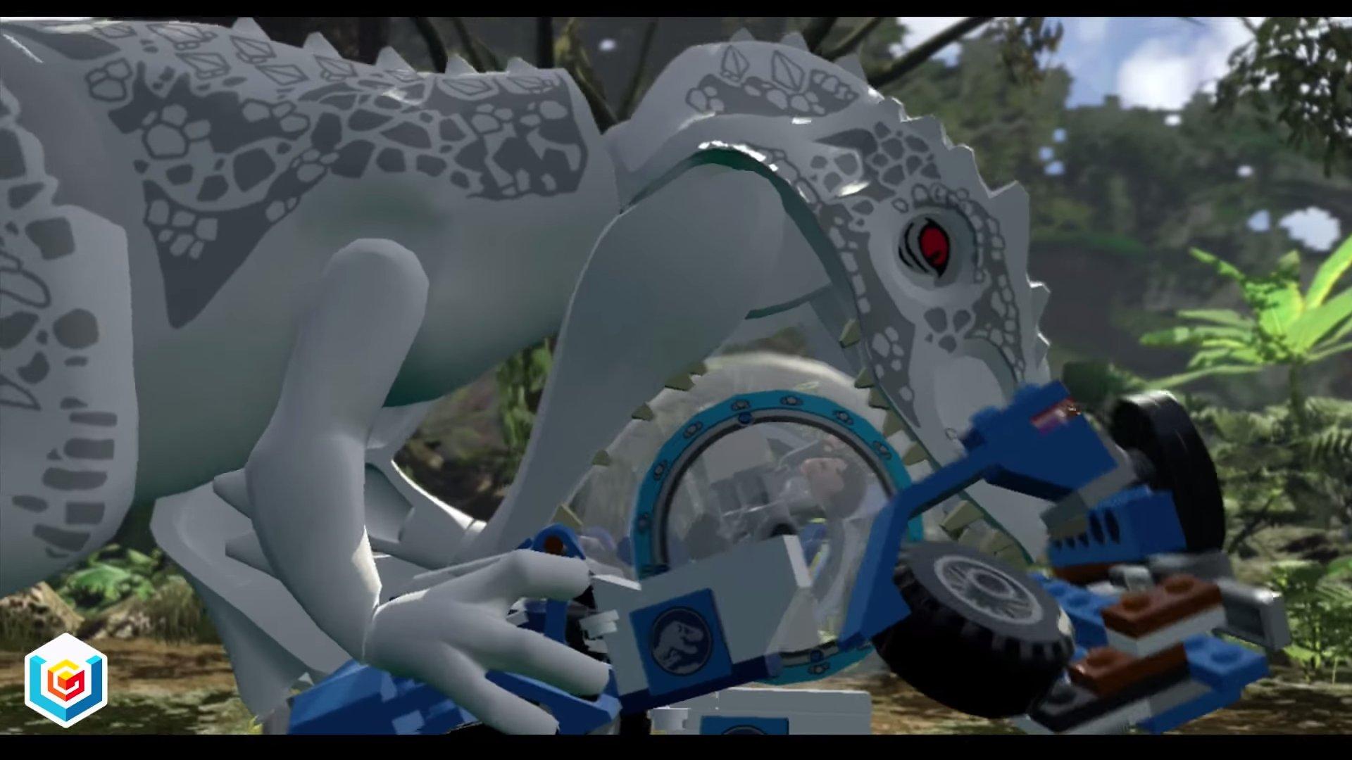 Image Lego Jurassic World Gyrosphere Valley Walkthrough