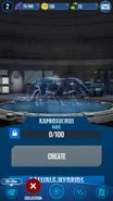 Kaprosuchus Hologram JWA