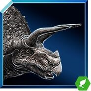 Triceratops icon JW