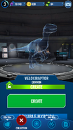 Velociraptor Hologram JWA