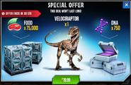 Velociraptor Offer
