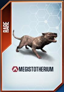 Megistotherium Card 2