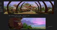 Camp Cretaceous Lodge Concept Art 11