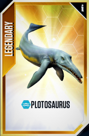 Plotosaurus Card