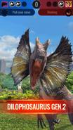 Gen 2 Dilophosaurus Combat