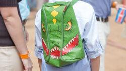 Green-backpack