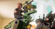 Lego Dimensions Owen Grady & Blue the Velociraptor from Jurassic World with BatMan, Gandalf, & Wyldstyle