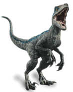 Fallen kingdom blue the velociraptor by sonichedgehog2-dc80trd