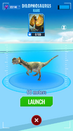 Dilophosaurus Map