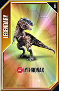 Lythronax Card