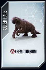 Eremotherium card
