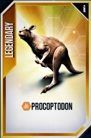 Procoptodon Card